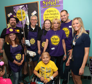 oct 28 2014 spirit of children brings a happier halloween to young patients at childrens hospital of new jersey at newark beth israel medical center