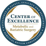 Center of Excellence in Metabolic and Bariatric Surgery award logo