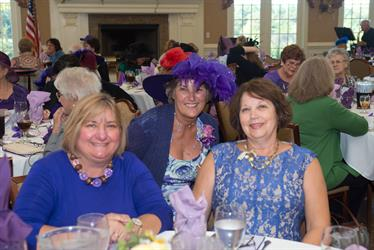 Friends of Van Dyke Purple Hat Society High Tea