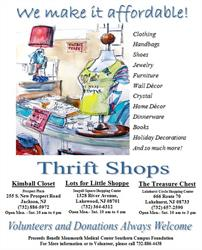MMCSC Foundation Thrift Shops