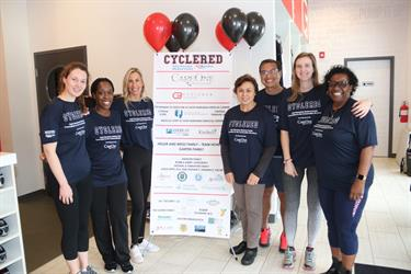 Saint Barnabas Medical Center's 2019 CycleRed Event