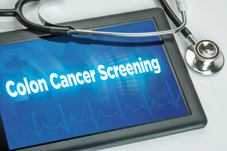 Colon Cancer Screening iPad