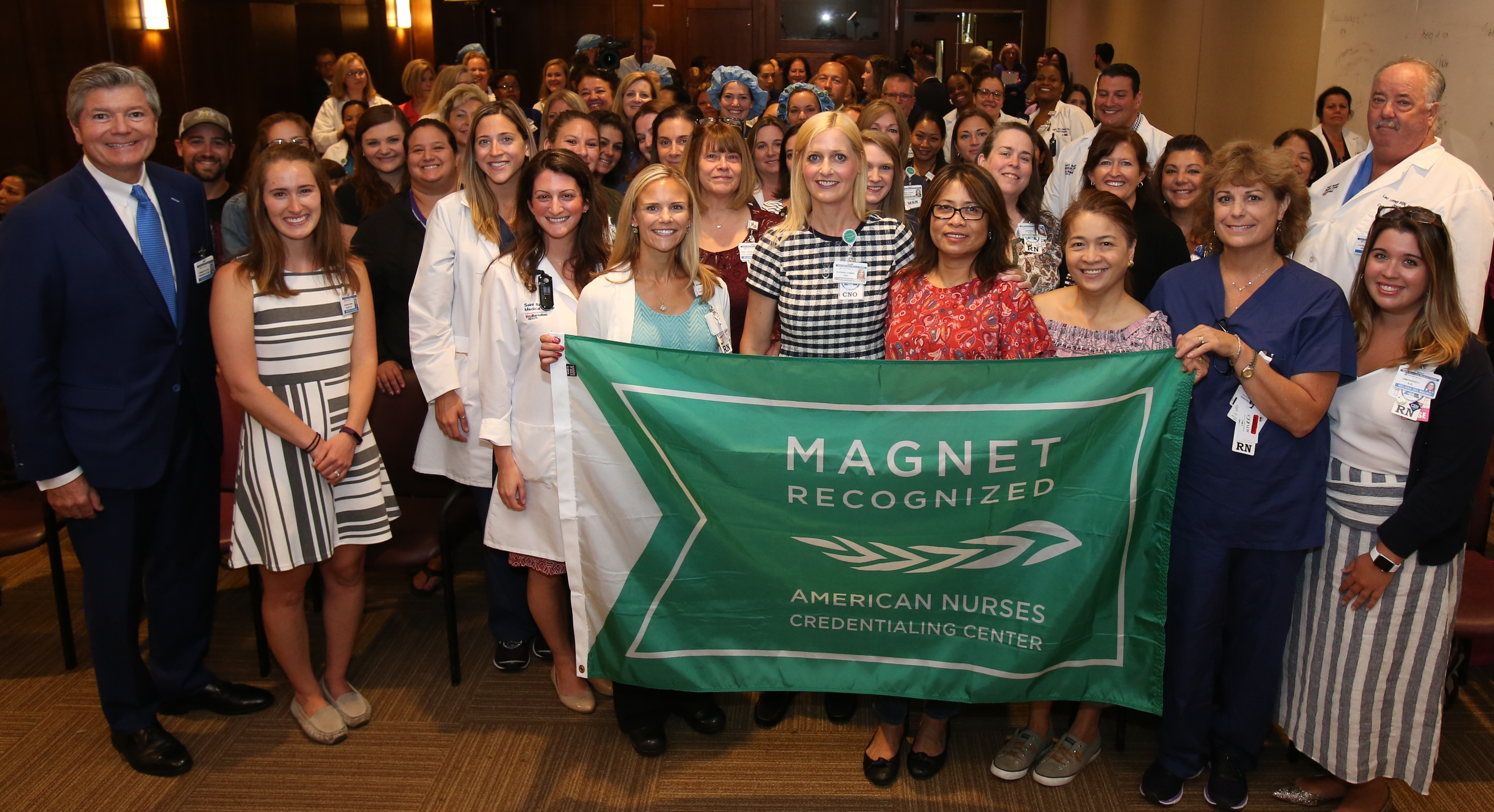Saint Barnabas Medical Center Achieves Magnet Designation