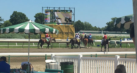 Labor and Delivery Day at Monmouth Park