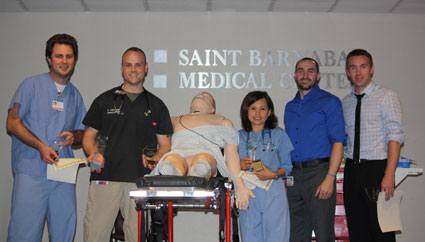 Sim Wars Regional Perinatal Simulation Center at Saint Barnabas