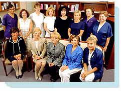 The Breast Center Staff