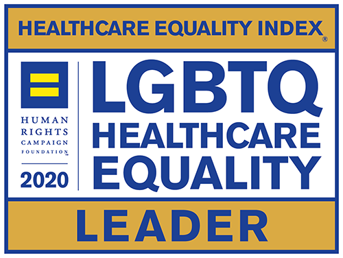 Leader in LGBTQ Healthcare Equality Index from the Human Rights Campaign Foundation