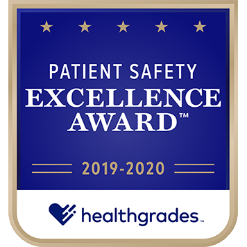 Healthgrades Patient Safety Excellence Award – Clara Maass Medical Center