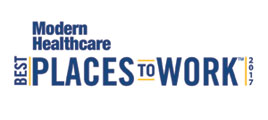 Modern Healthcare Best Places to Work 2017 logo