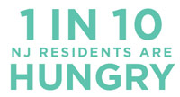 1 in 10 NJ Residents are Hungry