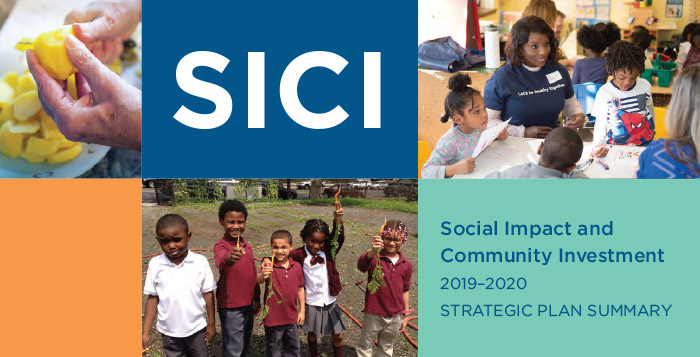 Social Impact and Community Investment 2019-2020 Strategic Plan Summary