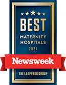 Named to Best Maternity Hospitals 2021 List from Newsweek
