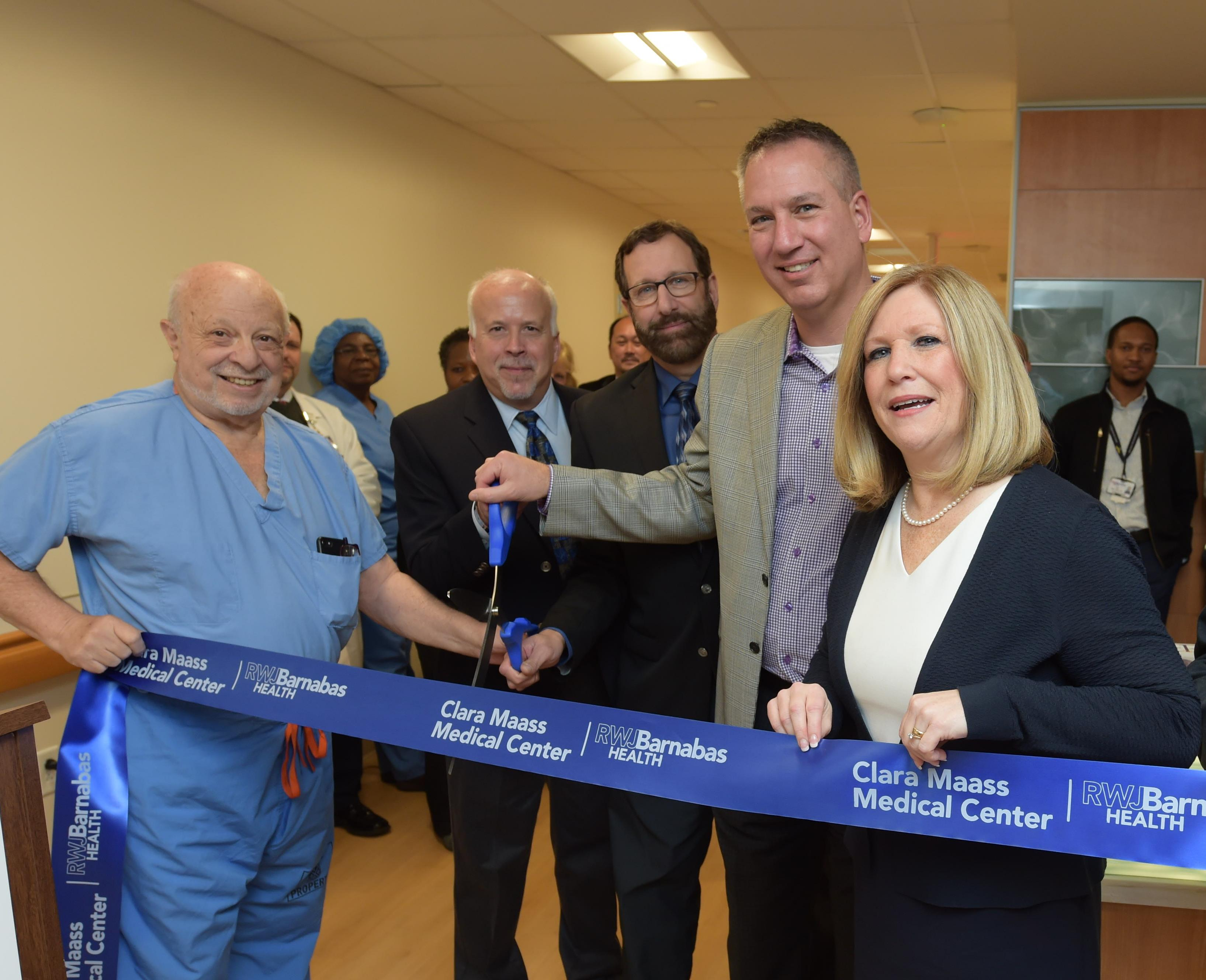 Ribbon Cutting for the new Adult Observation and Post-Anesthesia Care Unit