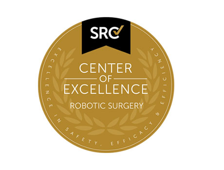 Center of Excellence in Robotic Surgery Accreditation Logo