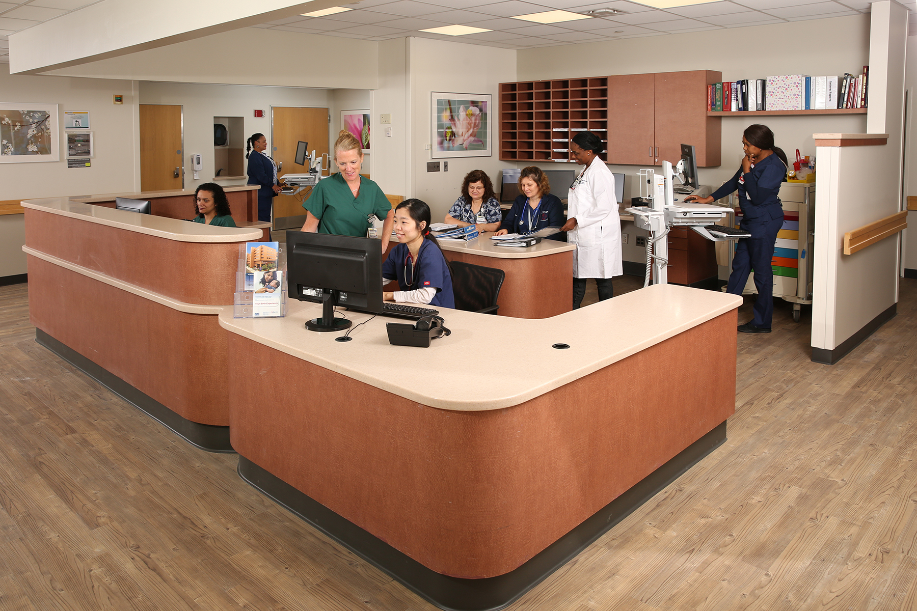 Newly Renovated Women's Health Unit Newark Beth Israel Medical Center