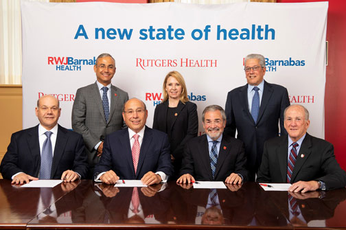 RWJBarnabas Health And Rutgers University Launch The State's Largest And Most Comprehensive Academic Health System