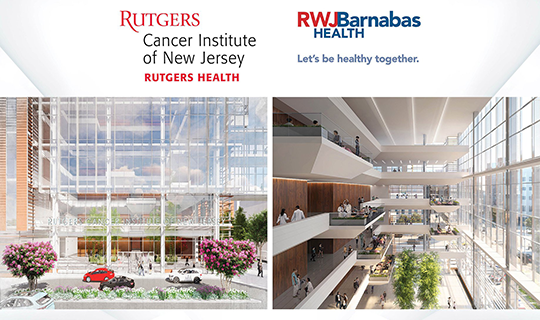 RWJBarnabas Health and Rutgers Cancer Pavilion