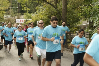 People Running in 5k