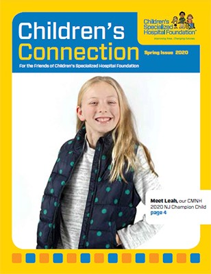 children's spring issue magazine cover
