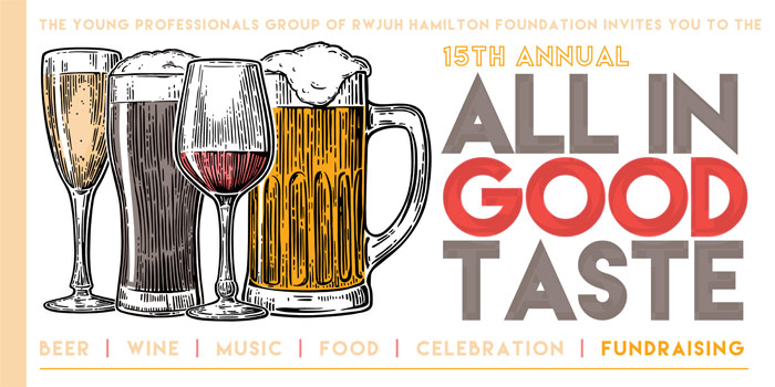 All in good taste banner