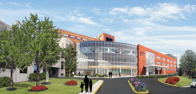 New Building Expansion Project at Clara Maass Medical Center