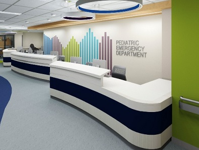 Pediatric Emergency Department Nurses Station