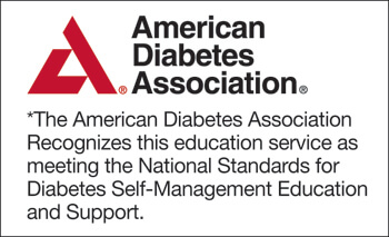 CMC - Living with Diabetes, American Diabetes Association logo