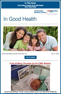 Community Medical Center e-news