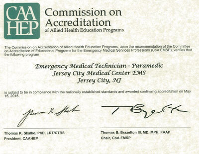 pre-hospital medicine | paramedic science program | jcmc ems