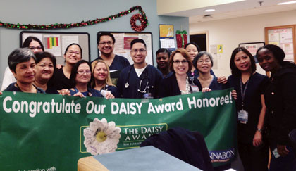 Daisy Award August 2015