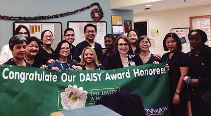 Daisy Award September 2015