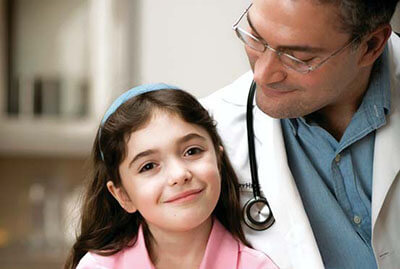 Girl with Doctor