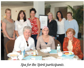 Spa for the Spirit Participants
