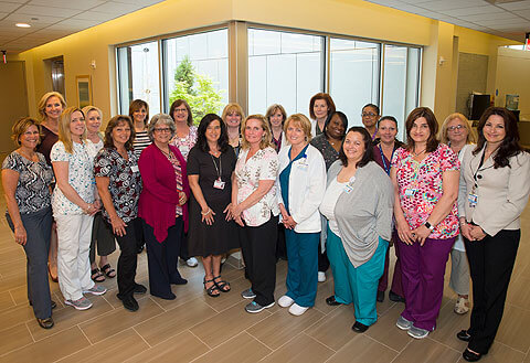 Staff at The Jacqueline M. Wilentz Breast Center at Monmouth Medical Center