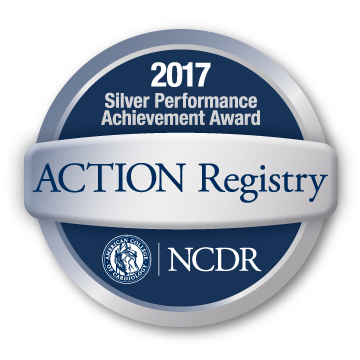 ACTION Registry, NCDR, 2017 Silver Performance Achievement Award