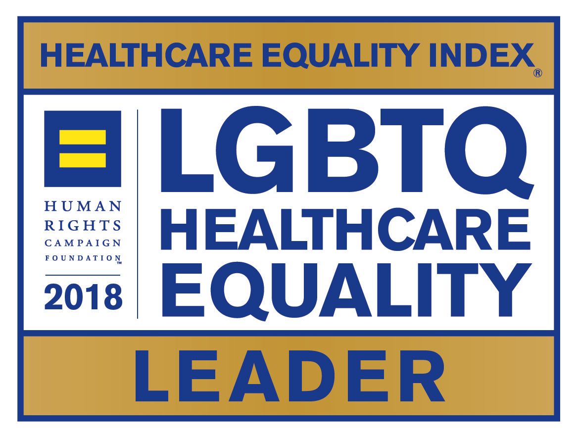 Human Rights Campaign Foundation 2018 - Healthcare Equality Index - LGBTQ Healthcare Equality Leader