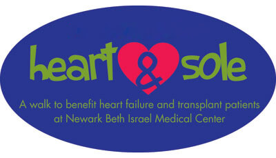 heart & sole a walk to benefit heart transplant patients at Newark Beth Israel Medical Center