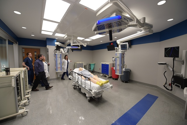 New RWJUH Emergency Department Trauma Bay