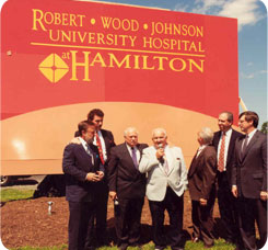 In 1994, Hamilton Hospital became part of theRobert Wood Johnson Health System.
