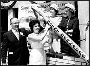 1962- Cornerstone ceremony