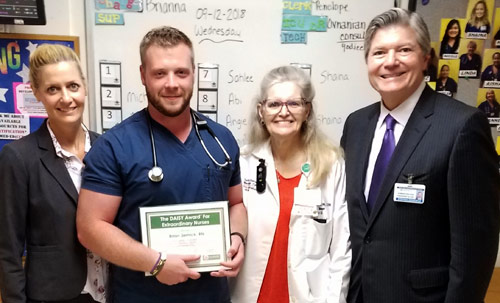 2018 Daisy Award Winners at Saint Barnabas Medical Center