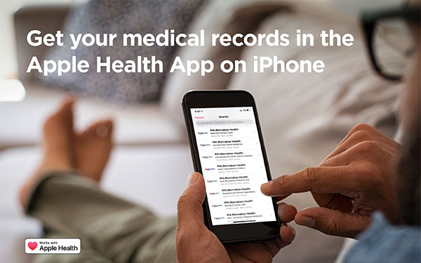 Get your medical records in the Apple Health App on iPhone