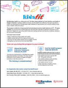 Download the KidsFit flyer.