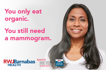 You Still need a mammogram.