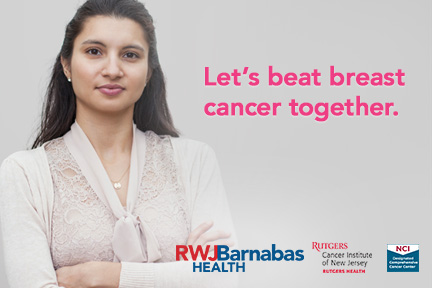 Let's beat breast cancer together.