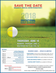 2018 Golf Classic and Tennis Tournament
