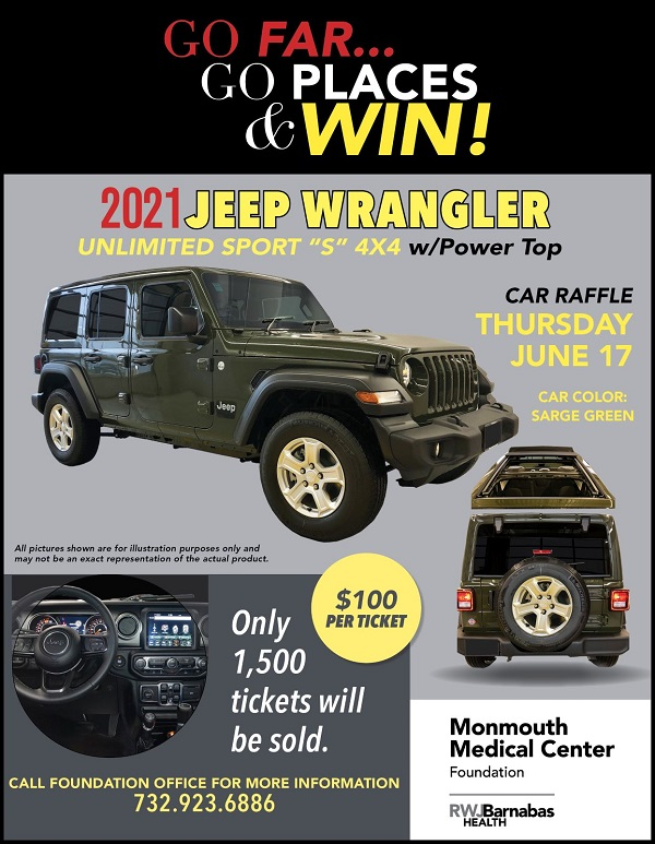 car raffle flyer