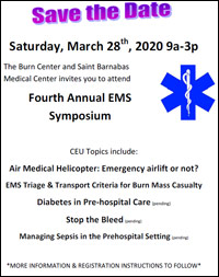 Save The Date 2020 EMS Symposium