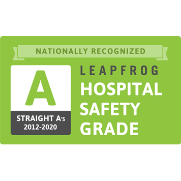 Leapfrog Hospital Safety Award - Grade A - Saint Barnabas Medical Center