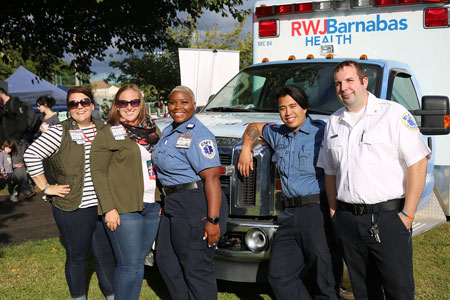 RWJBarnabas Health sponsored the first Bridge Arts Festival in Bayonne featuring artists, musicians, dancers and writers in support of the local artists in the Bayonne community and the surrounding areas.  The event featured live musical and dance performances, food and craft vendors.